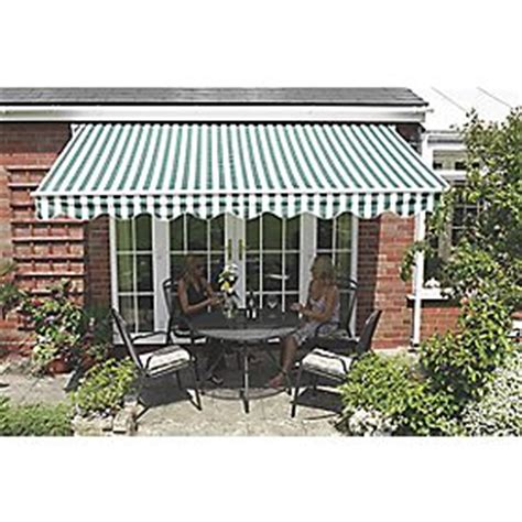 Greenhurst Patio Awning Spares Greenhurst Henley Patio Awning Green White 3 5 X 2 5m