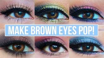 what colors make brown pop 5 makeup looks that make brown pop brown