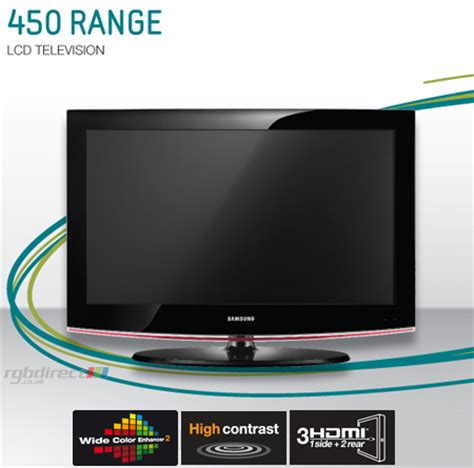 Tv Samsung Digital samsung le32b450c4wxxu 32 series 4 hd ready lcd tv with integrated digital tuner