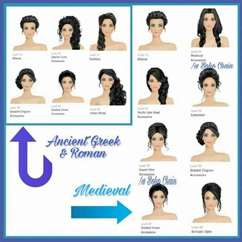 hairstyles job games 58 best covet makeup and hairstyle combos images on