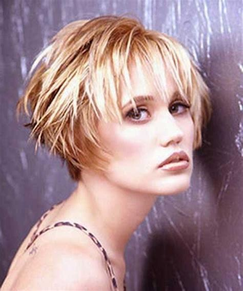 funky haircuts for fine hair photo gallery of trendy short haircuts for fine hair
