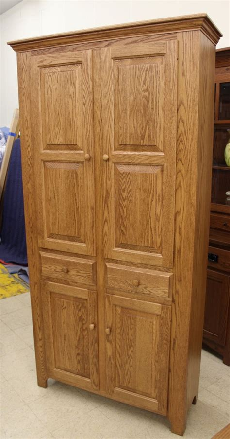 Pantry Cabinet With Drawers by Pantry Cabinet With Drawers Amish Traditions Wv