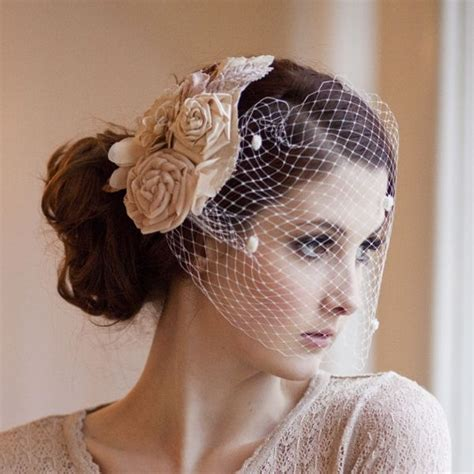 Bridal Hairstyles Birdcage Veil by Birdcage Veil How To Wear With Style Millesime