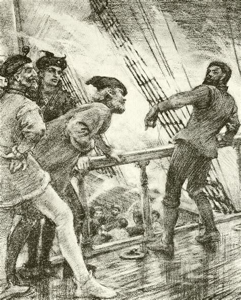 boatswain tempest the boatswain drawing by henry scott tuke