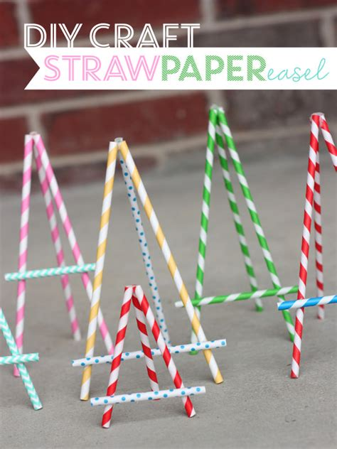Paper Straw Craft Ideas - 18 crafty ways to decorate with paper straws tip junkie