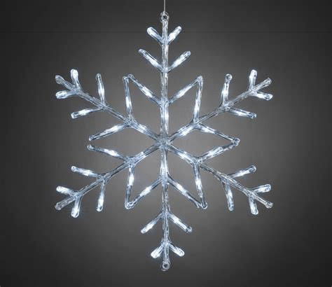 outdoor lightup acrylic snowflakes with timer gardensite