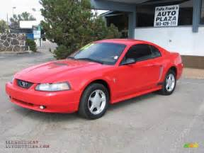 2002 ford mustang v6 coupe in torch photo 2 125799