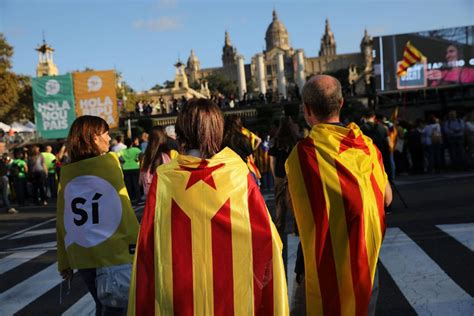 barcelona dan catalan spain catalonia head for showdown over independence vote