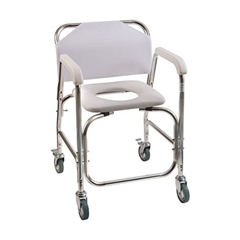 Handicap Stools With Wheels by Duro Med Shower Chair With Wheels Commode Chair And