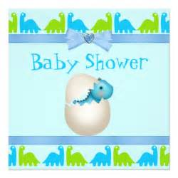newly hatched baby dinosaur baby shower announcements zazzle