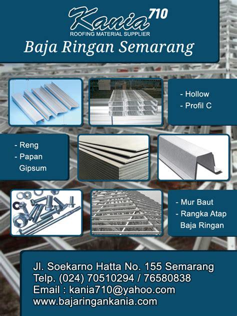 Jual Nes V Semarang harga baja ringan semarang per batang murah kania baja