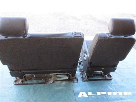 suburban 2nd row bench seat origianal cadillac escalade esv chevy suburban second 2