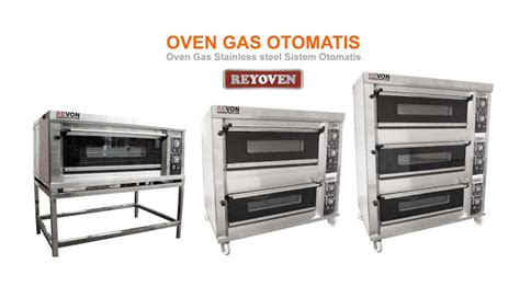 Oven Gas Otomatis oven gas no 1 di indonesia