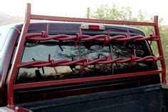 headache racks on barbed wire diesel trucks