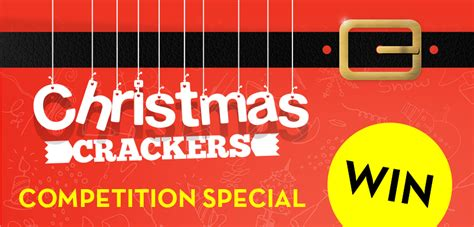 Win Our Giveaway by Win Amazing Prizes In Our Cracker Giveaway