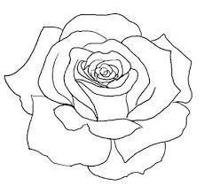 simple rose tattoo outline rose outline 3 by vikingtattoo on deviantart rose tattoo
