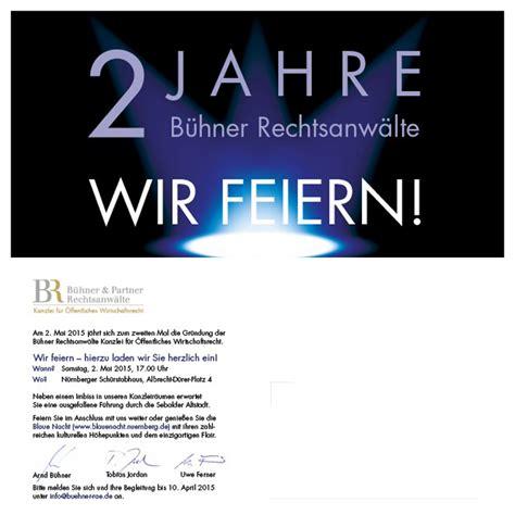 Muster Einladung Kundenevent B 252 Hner Partner Rechtsanw 228 Lte N 252 Rnberg