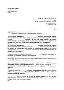 Exemple De Lettre Judiciaire Modele De Lettre De Licenciement Pour Liquidation Judiciaire