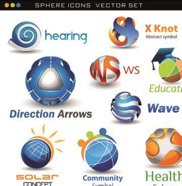 free logo design commercial use 3d logo design free vector download 69 892 free vector