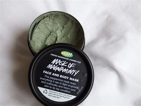 lush mask of magniminty the perks of being emily lush mask of magnaminty review