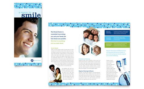 dentistry dental office brochure template design