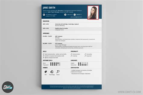Best Free Resume Maker by Mod 232 Les De Cv Exemples De Cv Cr 233 Er Un Cv Craftcv