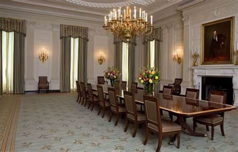 State Dining Room White House by White House State Dining Room