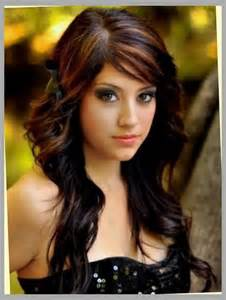 Hair with mahogany highlights black hair with mahogany highlights for