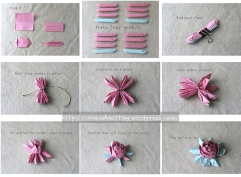 Origami Lotus Flower Tutorial - origami lotus tutorial origami tutorial and paper craft