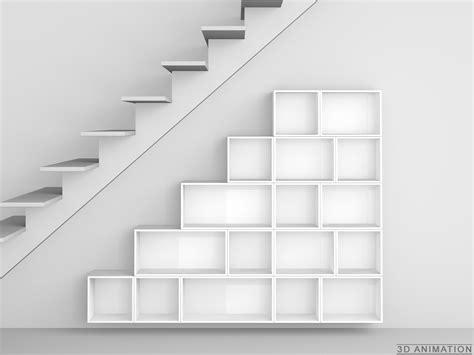 stair shelving unit modular shelving unit by cubit mymito design shelves