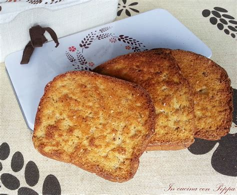 cucina con peppa fette biscottate multicereali ricetta gustosa in