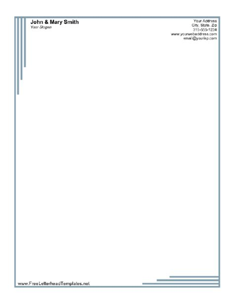 Business Letterhead Free Formal Business Letterhead