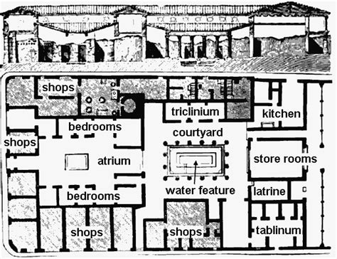 ancient greece floor plan ancient greek courtyard house plan furniture walls