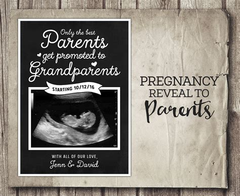Pregnancy Announcement Template free printable pregnancy announcement templates