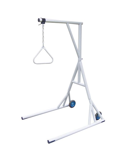 trapeze for hospital bed drive bariatric free standing trapeze 1000 lbs by drive