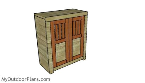 18 doll armoire plans myoutdoorplans free woodworking