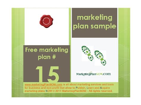 Free Marketing Plan Sle Of A Lighting Services Service Marketing Ppt Free