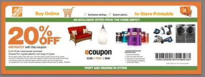 home depot cupons home depot coupon codes promo codes printable coupons