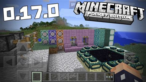 minecraf pe apk minecraft pe pocket edition 0 17 0 apk
