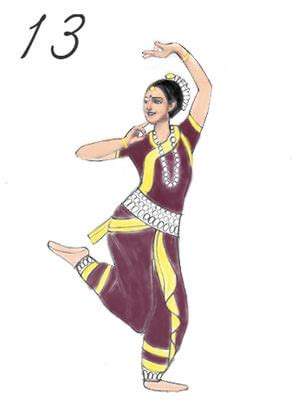dance tutorial indian how to draw n indian girl full body step by step