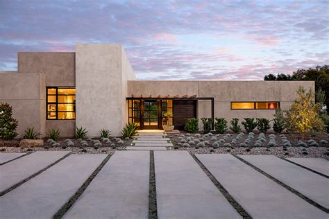 Southwest Style Homes Santa Barbara Modern Leonard Unander Associates Inc