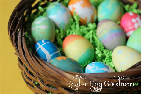 easter egg dye ideas easter eggs and three fun egg decor techniques