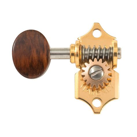 Guitar Tuner Knob by Waverly Guitar Tuners With Snakewood Knobs For Solid Reverb