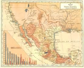 southern california missions map the new mexico of nueva espana
