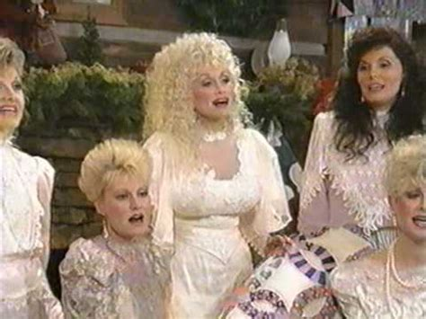 dolly parton singing joking with her sisters from the home for christmas special youtube