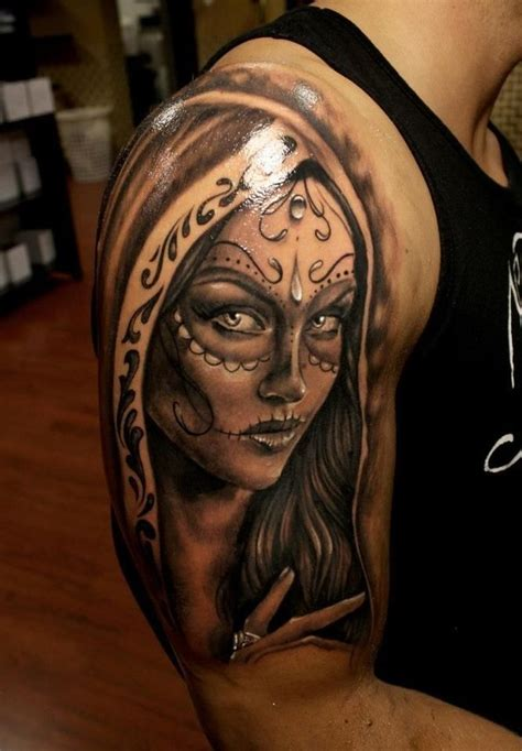 sugar face tattoo designs sugar skull meaning 99inspiration