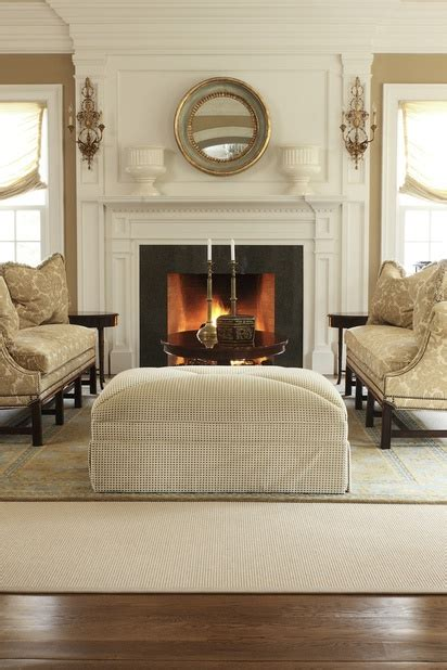 decorative rugs for living room 23 gorgeous living rooms with fireplaces and cozy