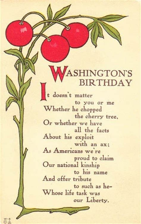 a cherry tree poem 17 best images about vintage president postcards on birthdays presidents day and