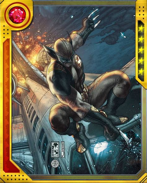 marvel woh card template the best there is wolverine marvel war of heroes wiki