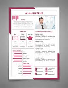 Curriculum Vitae Template Free by 160 Exemples De Cv Curriculum Vitae 224 T 233 L 233 Charger